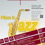 Plakat MissaInJazz