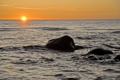 Sunset Gotland
