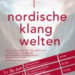 Plakat Nordische Klangwelten