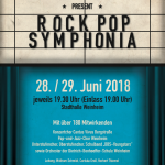 Plakat Rock Pop Symphonia