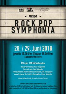 Plakat Rock Pop Symphonia
